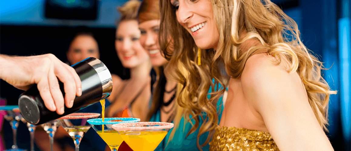 Women Enjoying a Brighton Hen Party
