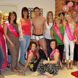Hen Party Life Drawing Group Photo