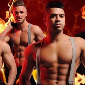 Topless Fireman