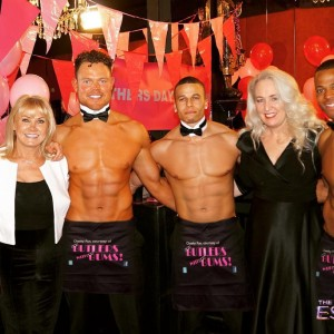 Butlers with Bums Hen Party