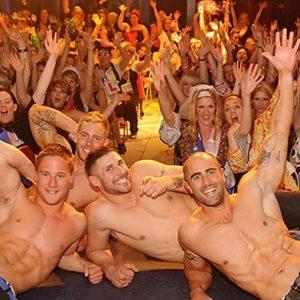 50 Women Enjoying a Hen Party in Brighton