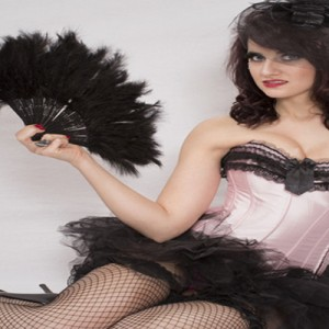 Borlesque with Hand Fan