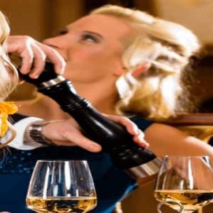 Women Relaxing and Enjoying a Drink