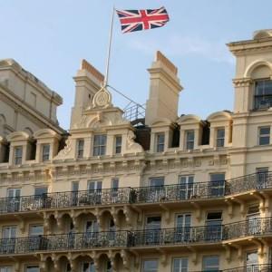 Large Hotel with Union Jack