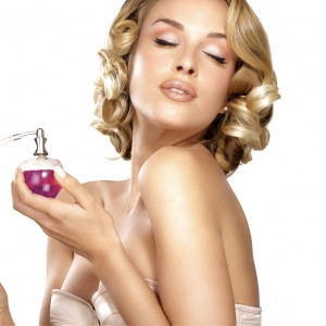 Classy Woman with Perfume