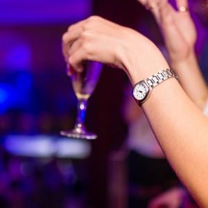 Woman Drinking in Club