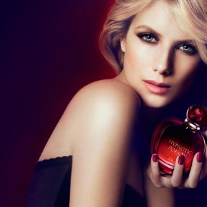 Perfume Girl with Hypnotic Poison Dior