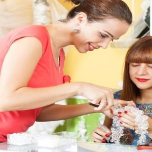 Women Making Jewellery