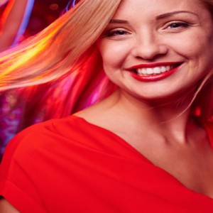Woman in Brighton Bar
