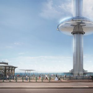 Outside View of the Brighton i360 Tower