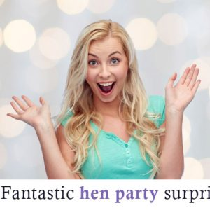 Surprised Hen at Hen Party