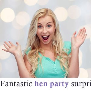 Surprised Hen at Hen Do