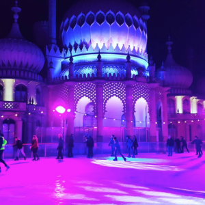 The Royal Pavilion Ice Rink in Brighton