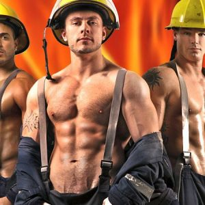 Topless Fireman Available for Hire